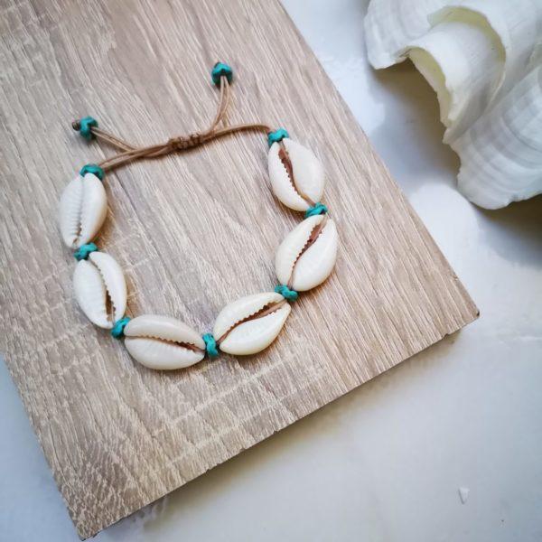turqoise shell bracelet