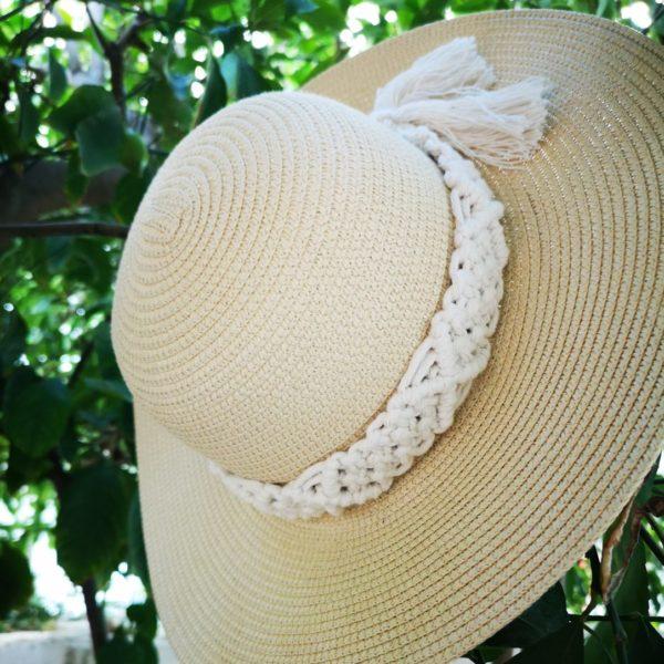 macrame hat 2
