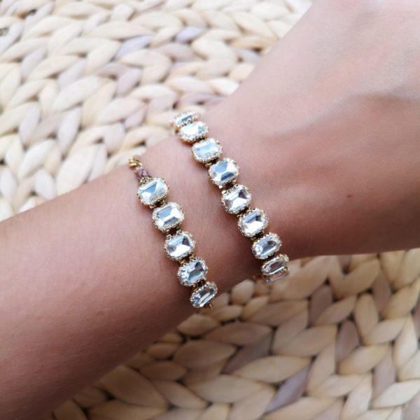Crystal bracelet type 1
