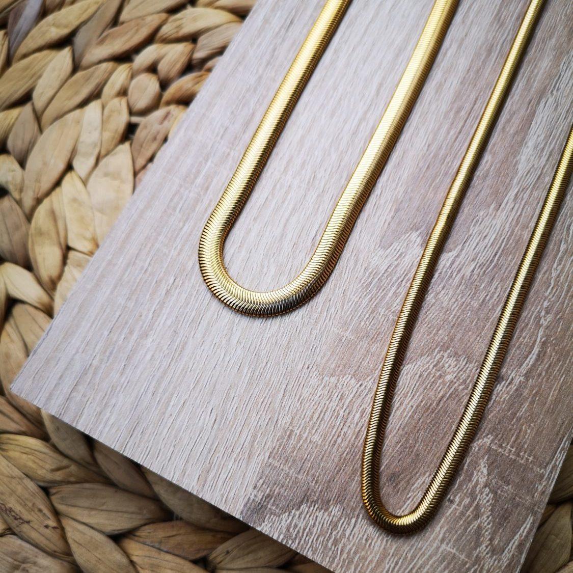 golden snake chain