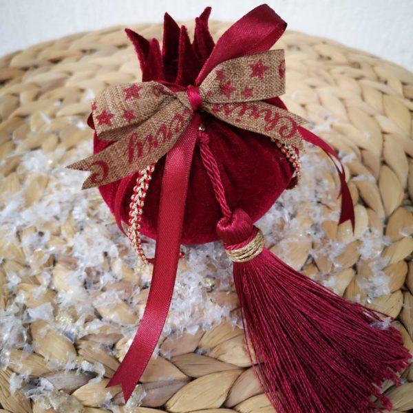 velvet pomegranate charm
