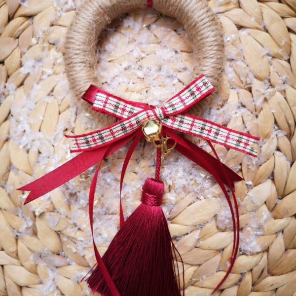 Natural Wreath Charm