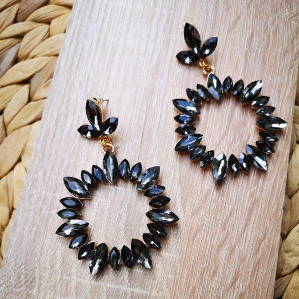 Grey Marilyn Earrings