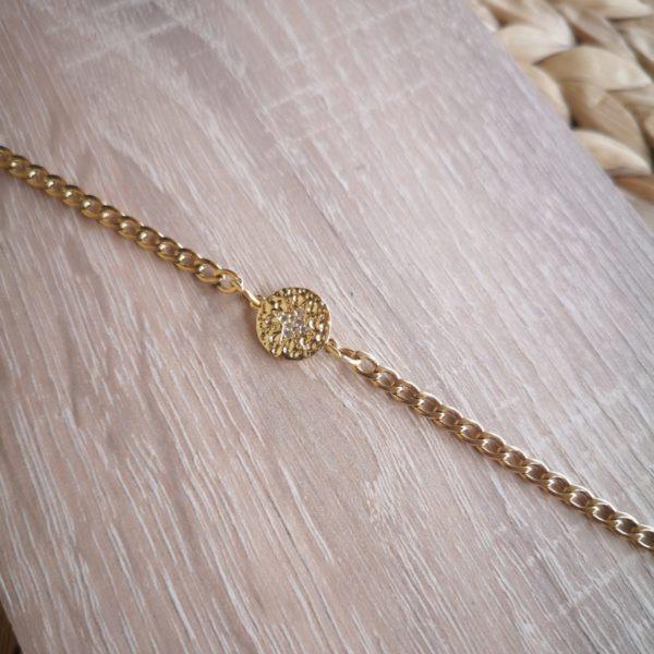 Zircon Star Bracelet