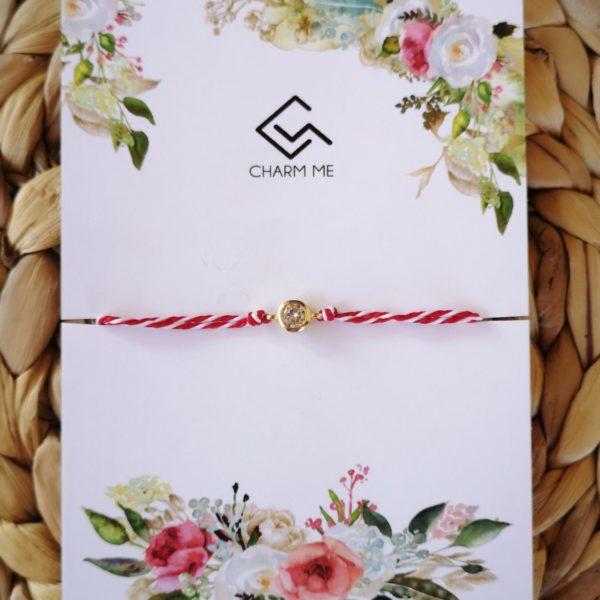 zircon march bracelet