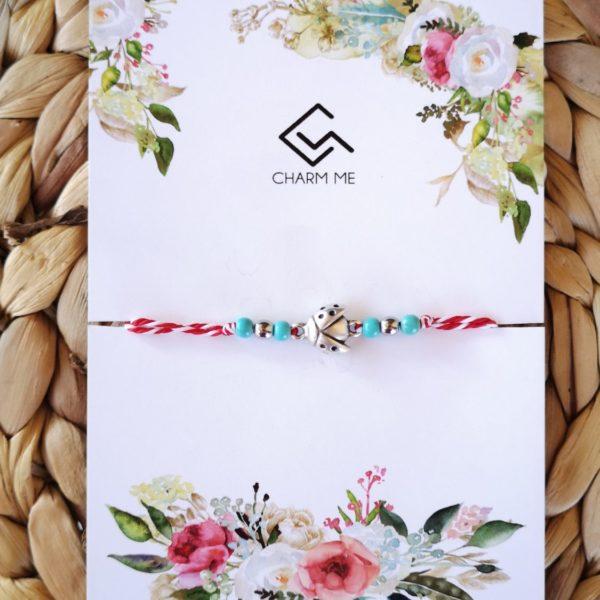 Ladybug March Bracelet