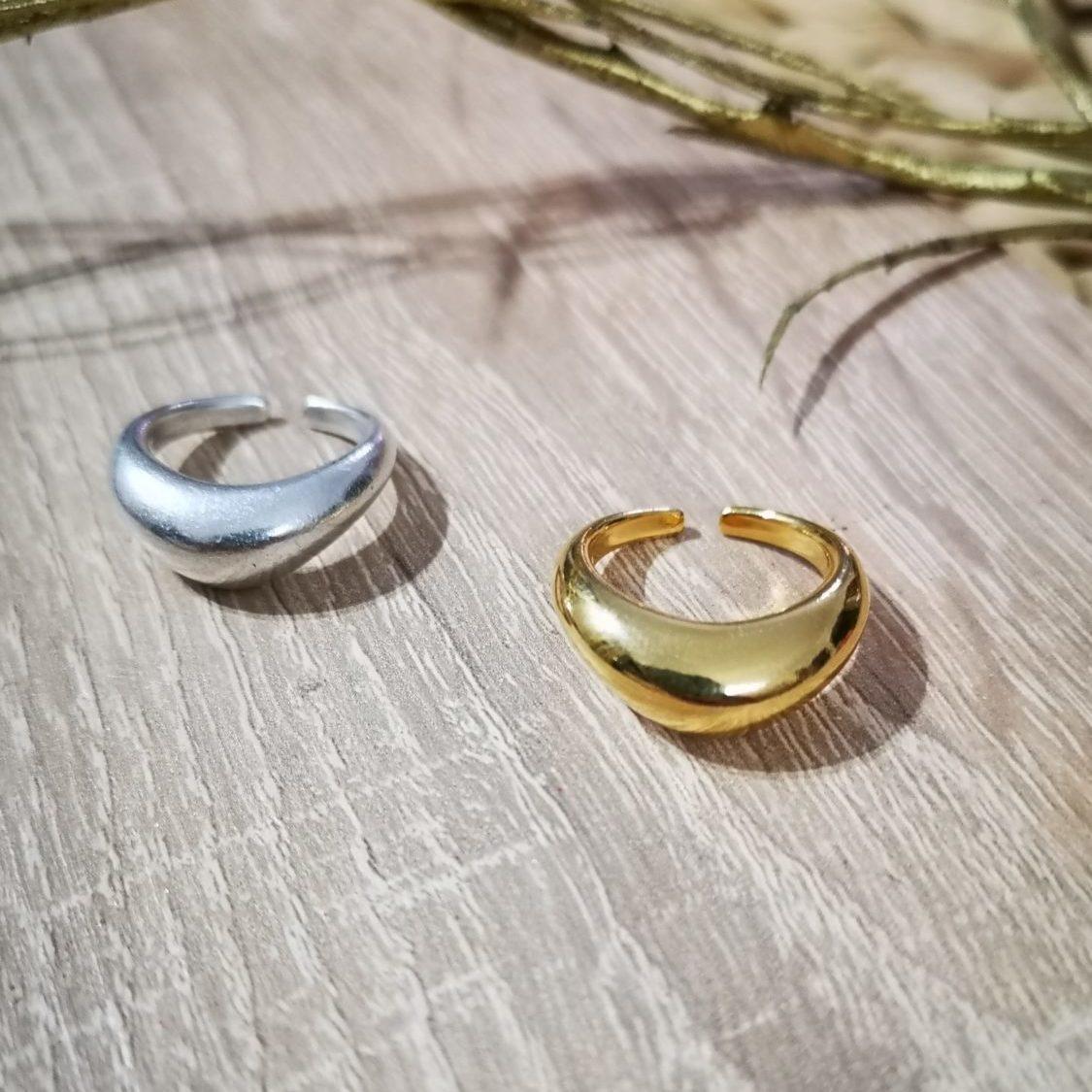 Δαχτυλίδι σε Σχήμα Μπούμερανγκ