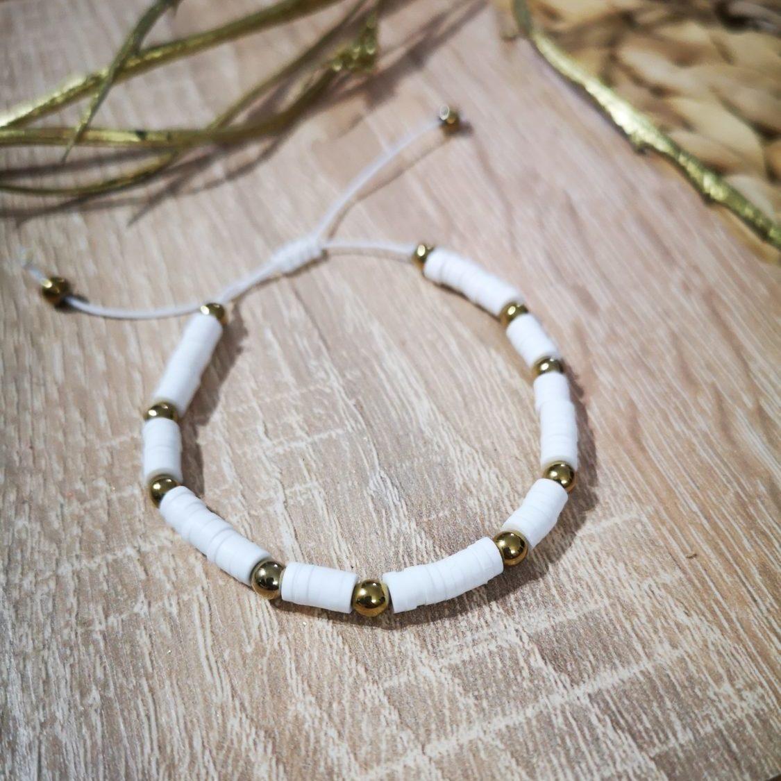 White Panama Bracelet