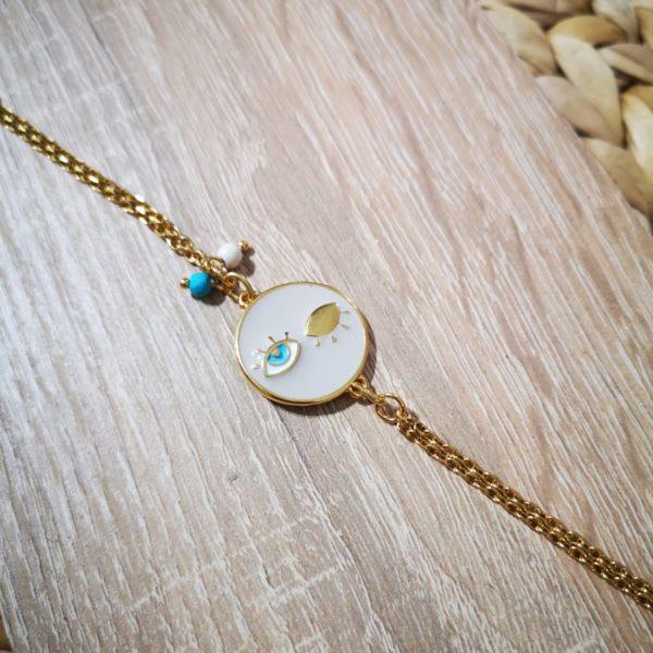 Round Eye Bracelet