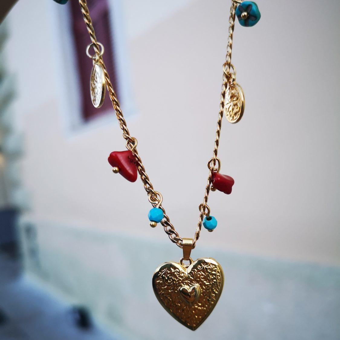 Samoa Heart Necklace