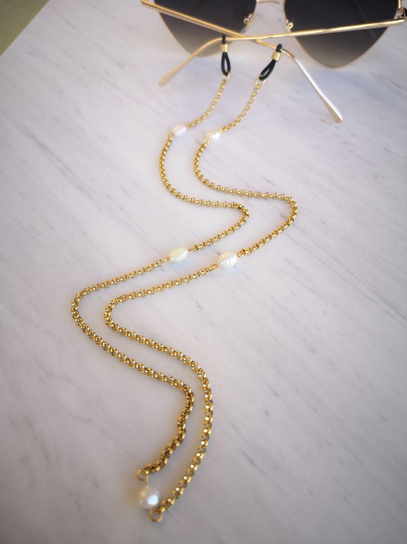 Pearl Sunglasses Chain 1