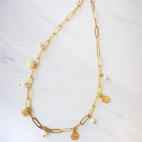 Arabic Coin Necklace