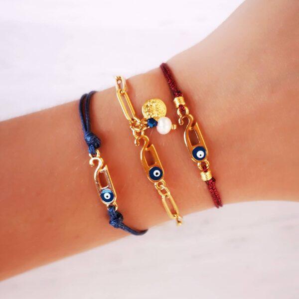 Eye Charm Bracelet